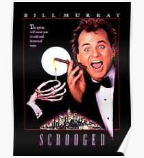 Scrooged - Bill Murray  Poster