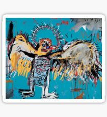 Basquiat - Fallen Angel Sticker