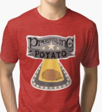 Presenting Potato Tri-blend T-Shirt