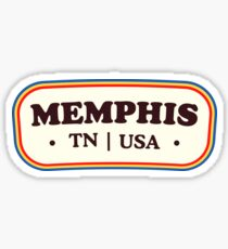 Memphis | Retro Badge Sticker