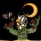 Midnight Blooms: Still Life in the Desert by LeftHandedLenya