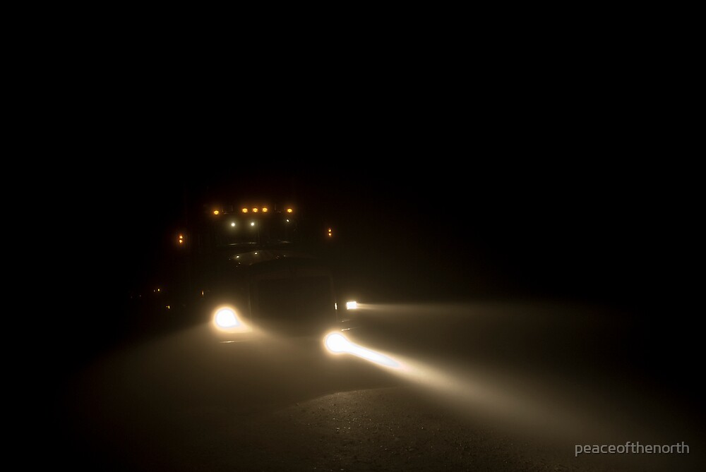 Fog Lights ... by peaceofthenorth