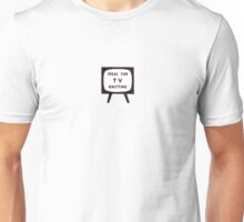 'Ideal for TV Knitting' Retro/Vintage Magazine Artwork Unisex T-Shirt