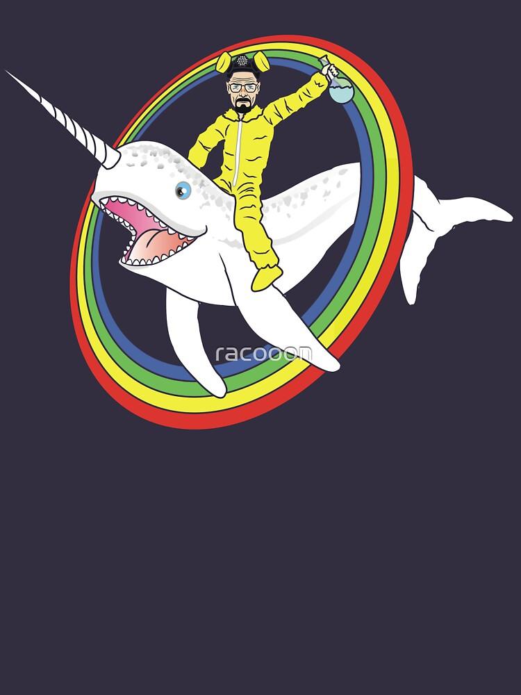 Narwhal Rainbow Heisenberg by racooon