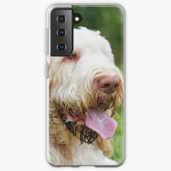 Relaxing and take it easy Spinone  Samsung Galaxy Soft Case