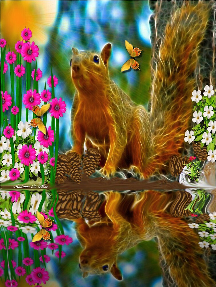 ~ SHAYLENE SQUIRREL ~ by Madeline M  Allen