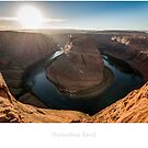 Horseshoe bend at sunset by Jacinthe Brault