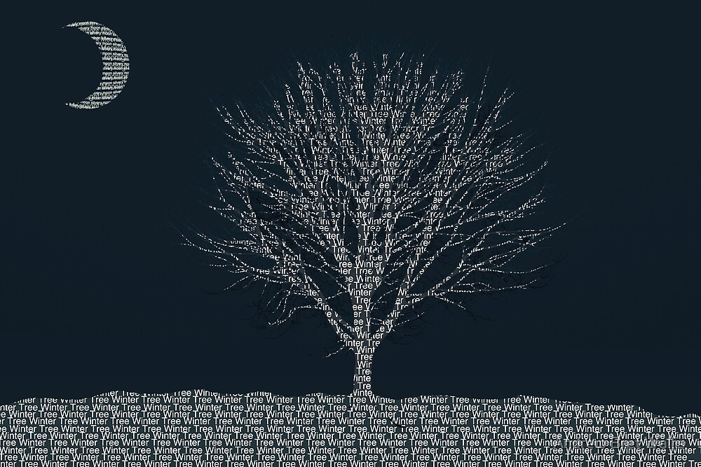 Winter Tree Text by Andrew Bret Wallis