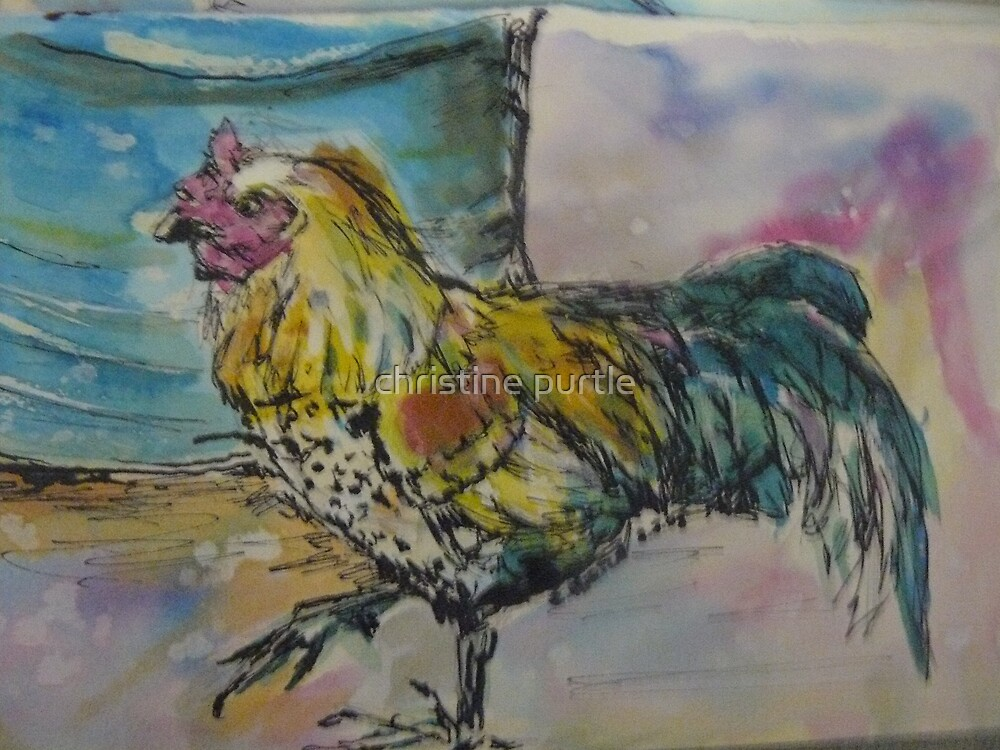 rooster by christine purtle