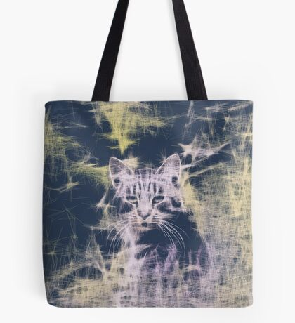 Linify Cat Tote Bag