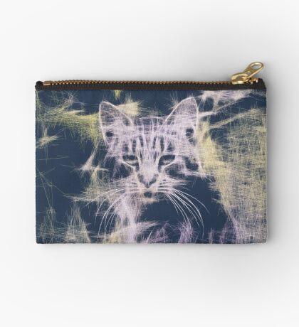 Linify Cat Zipper Pouch
