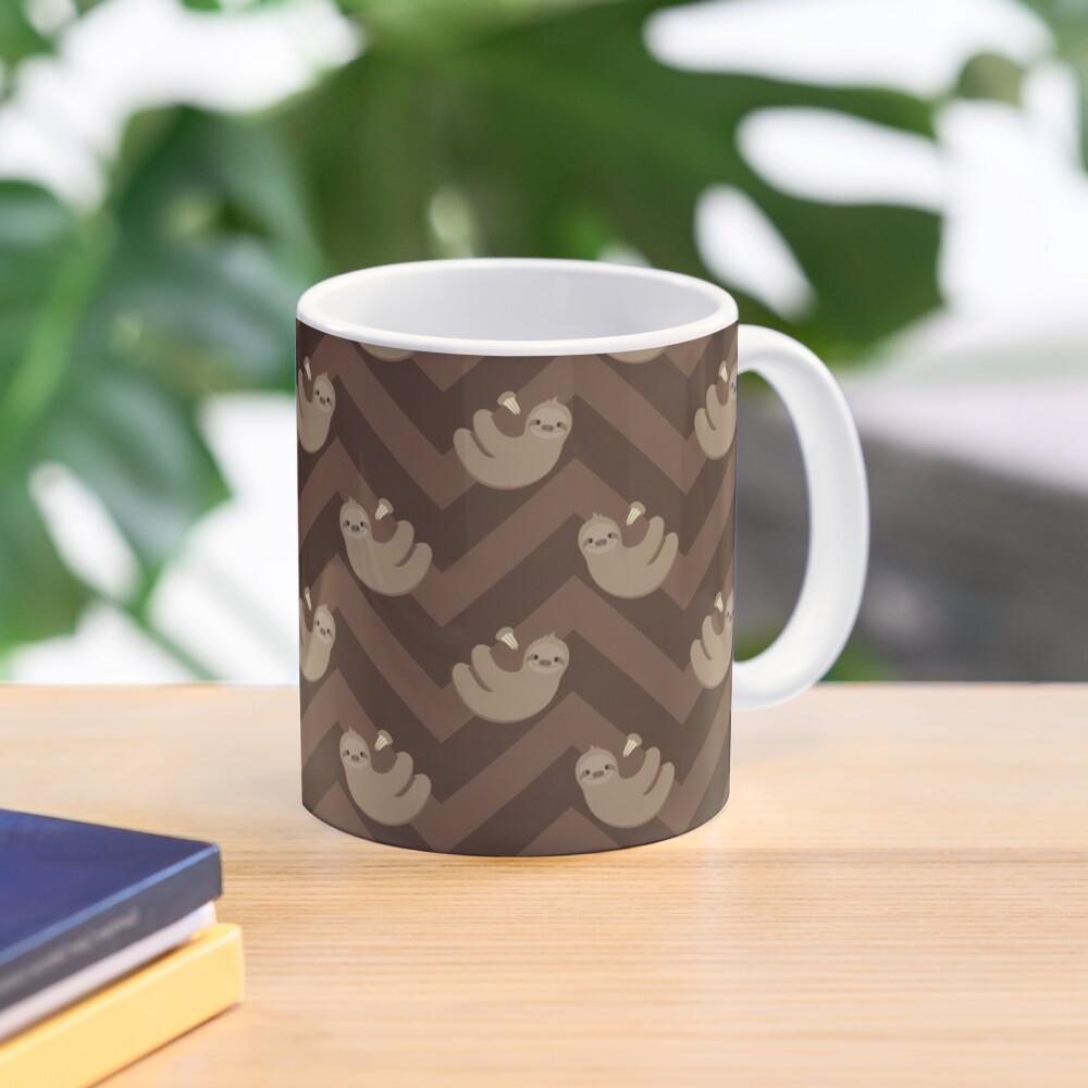 Sloths and chevrons Mug