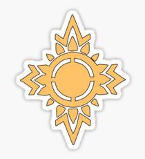 Rohirrim Shield Emblem Sticker
