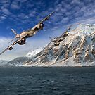 RAF Mosquitos in Norway fjord attack by Gary Eason