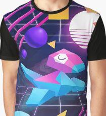 Vaporwave Porygon Graphic T-Shirt
