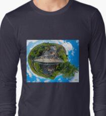 Footbridge over Glen River, Carrick, SW Donegal Long Sleeve T-Shirt