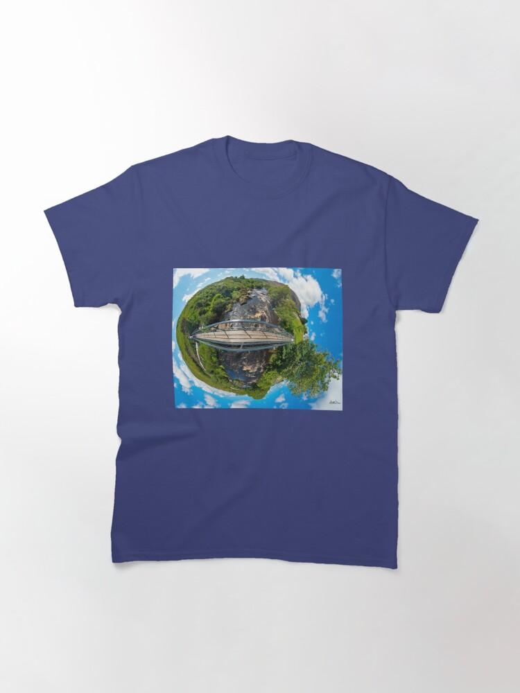 Alternate view of Footbridge over Glen River, Carrick, SW Donegal Classic T-Shirt
