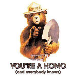 Homo Smokey by blaineb