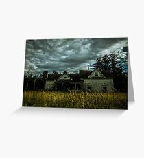 Foreclosure of a Dream Greeting Card