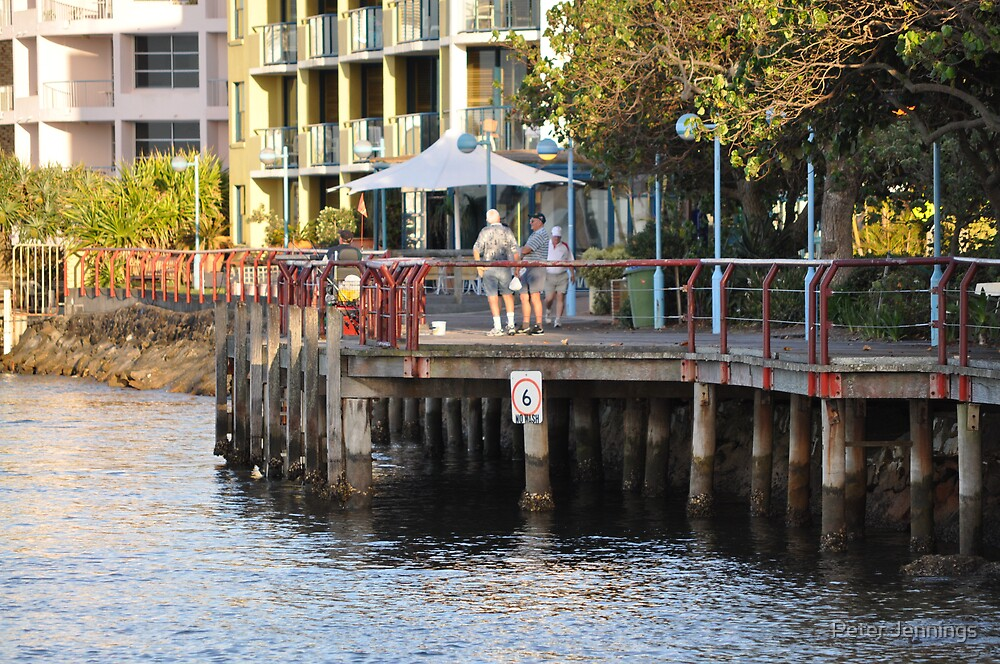 The Boardwalk Caloundra,peterjennings by Peter Jennings