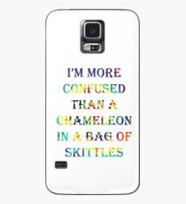 I'm More Confused Than A Chameleon In A Bag Of Skittles Case/Skin for Samsung Galaxy