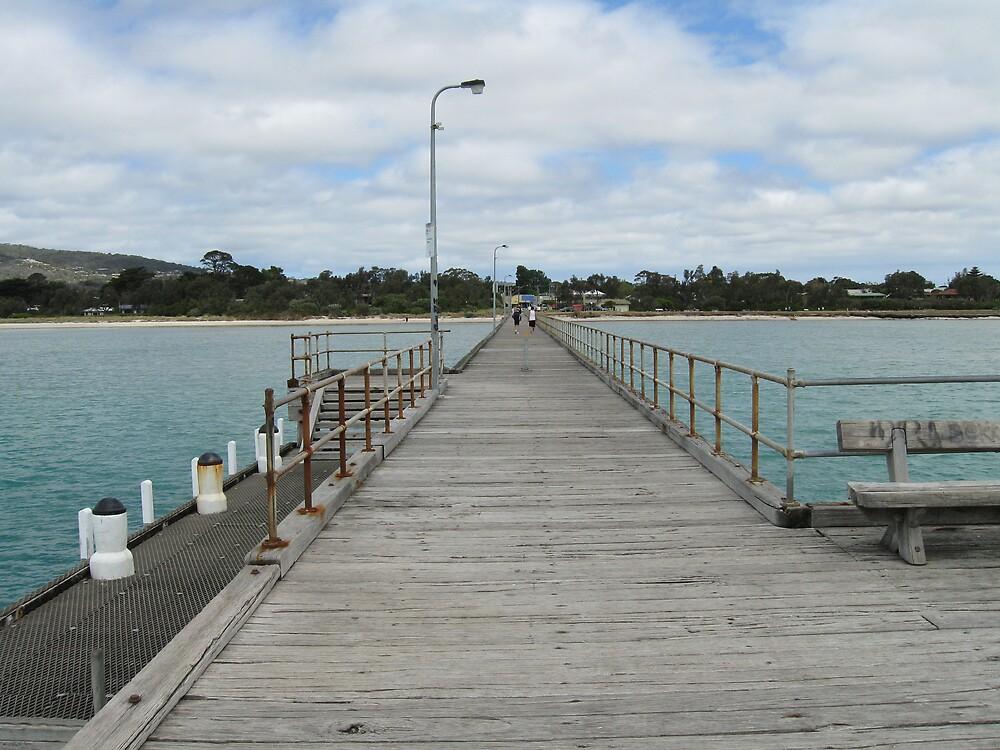 Rosebud Pier by Lee Revell