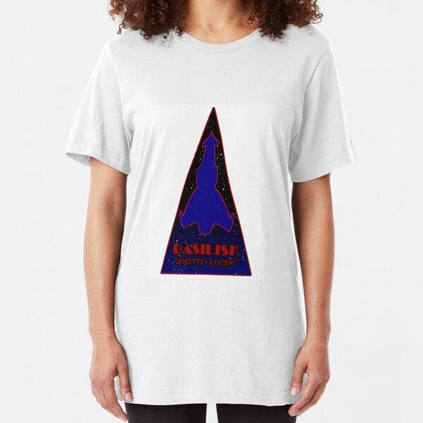 Basilisk Fighter Patch Slim Fit T-Shirt