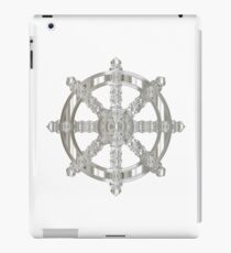Dharma wheel silver iPad Case/Skin