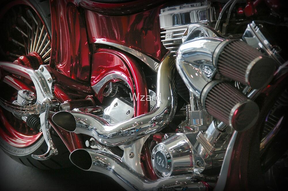 Motor Bike Four by Wzard