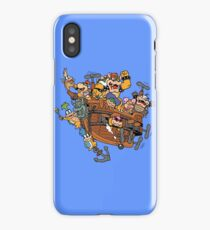 Father and His Children iPhone Case/Skin