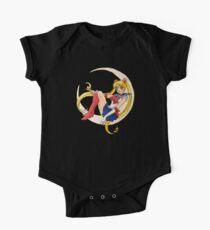 Body de manga corta para bebé Marinero de la luna