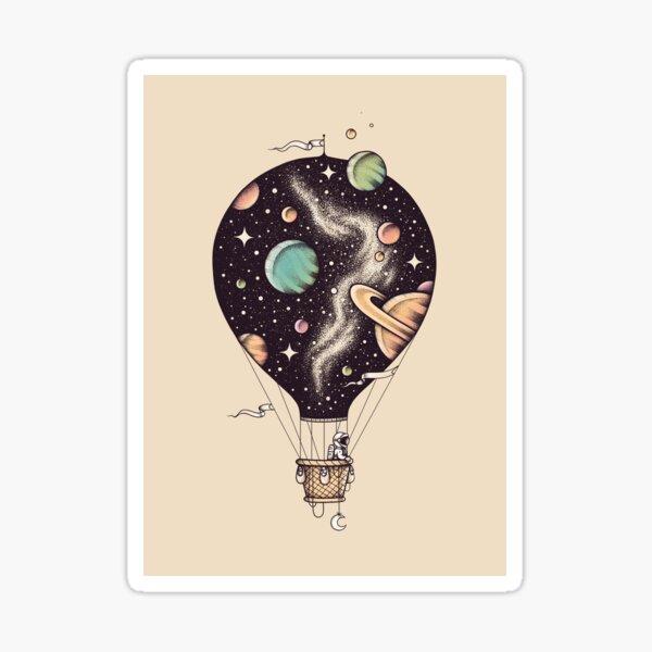 Interstellar Journey Sticker