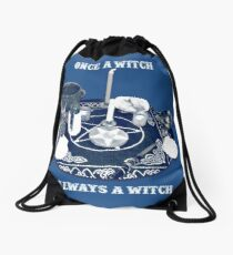 eleven to witch Drawstring Bag