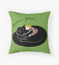 lovely hug (poster, quadro, cuscino) Throw Pillow