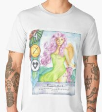 Fluttershy Gwent Card Men's Premium T-Shirt
