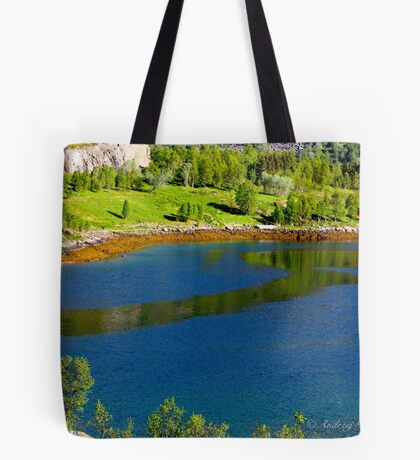 A fishing expedition to the Lofoten Islands in Norway 2017 . © Dr.Andrzej Goszcz. Tote Bag