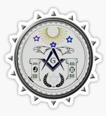 Freemasons Seal Sticker
