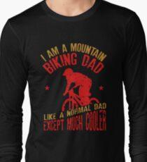 I Am A Mountain Biking Dad For Cyclist Lovers T-Shirt