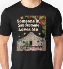 Merry Christmas from San Antonio, Texas Unisex T-Shirt