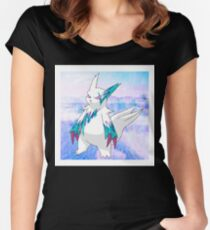 Alolan Zangoose Women's Fitted Scoop T-Shirt