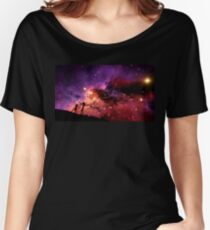 Rick And Morty Walking Through The Universe Women's Relaxed Fit T-Shirt