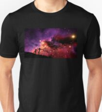 Rick And Morty Walking Through The Universe T-Shirt