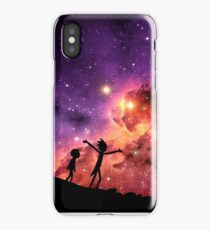 Rick And Morty Walking Through The Universe iPhone Case/Skin