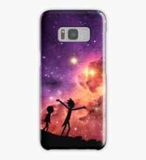 Rick And Morty Walking Through The Universe Samsung Galaxy Case/Skin