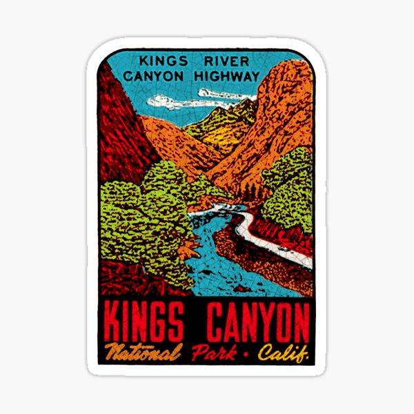 kings Canyon National Park California USA Sticker
