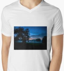 Foggy Evening in Vermont - Landscape T-Shirt