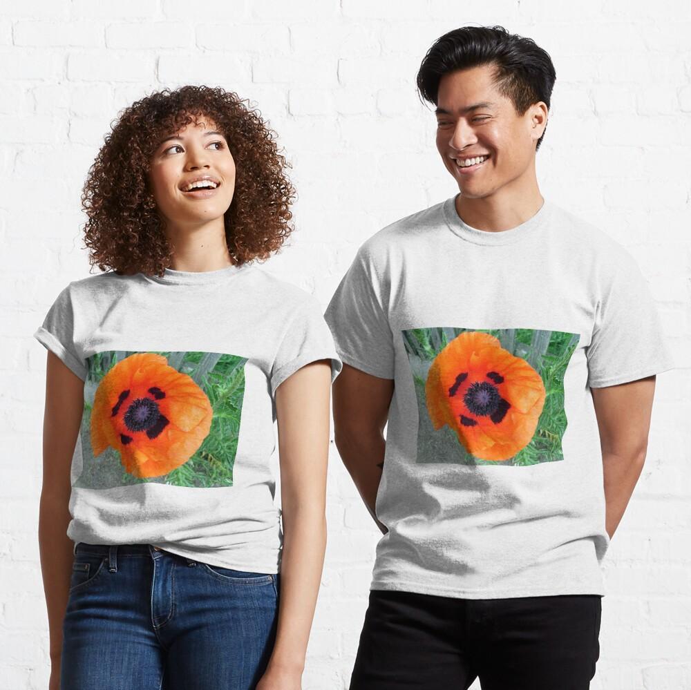 Große Mohn-Blüte Classic T-Shirt