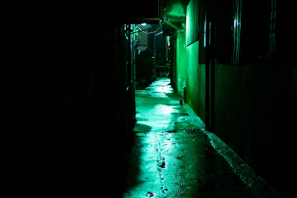 Green Alley by Jeff Harris