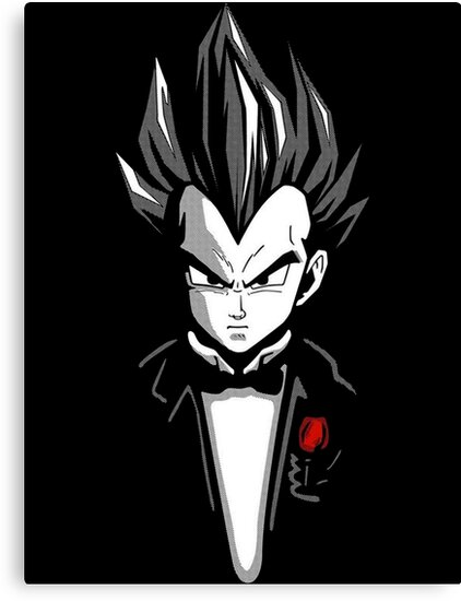 Dragon ball z vegeta godfather by senorfiredude