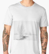 Winter Landscape Men's Premium T-Shirt